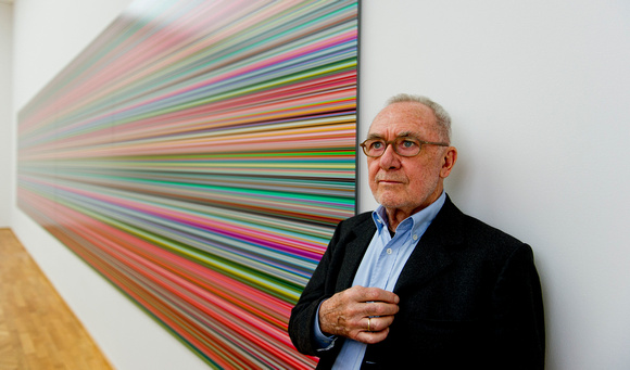 Maler Gerhard Richter, Dresden, September 2013